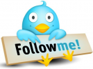 Press to Follow Steve Shaw on twitter button