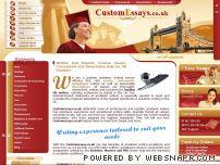 customessays co uk: Best Writing Service