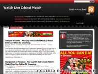 live-cricket-match.com - Watch Live Cricket Match TV Streaming Online Broadcasting India Pakistan Bangladesh Sri Lanka Australia England South Africa West Indies Zimbabwe New Zealand
