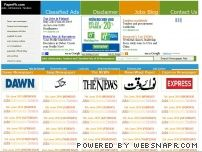 paperpk.com - PaperPk.com - Dawn, Jang, Nawa-i-waqt, Express Newspaper Jobs, Admissions, Tenders and Classified Ads