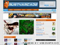 rustyarcade.com screenshot