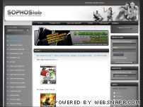 sophoslab.hr screenshot